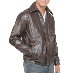 Leather Bomber Jacket  Model# 287394