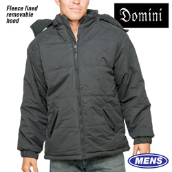 Mens Winter Jacket - Black  Model# 14021