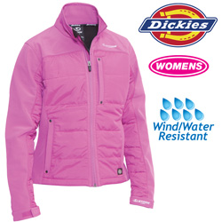 Dickies Womens Puffer Jacket - Pink  Model# FJ362IB