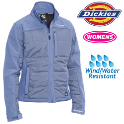 Dickies Womens Puffer Jacket - Blue  Model# FJ362LU