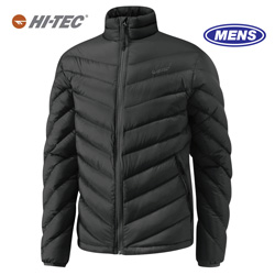 Hi-Tec Solitude Pass Down Jacket - Black  Model# 60523