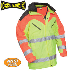 Two-Tone Hi-Viz Jacket  Model# LUX-TJCW2T
