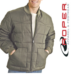 Roper Canvas Down Jacket - Khaki  Model# 03-097-0409-0645 BR