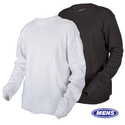 Long Sleeve Thermal Shirts - 2 Pack - Size: Xlarge 96701E