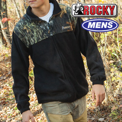 Rocky Camo Fleece Jacket  Model# FQ0600700-MOB