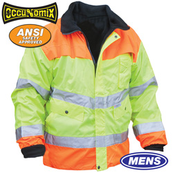 Hi-Viz Two-Tone Coat  Model# LUX-TJYO