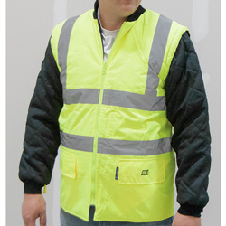 Hi-Viz 5-In-1 Jacket - Yellow  Model# OK-4501