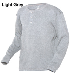 Long Sleeve Henleys - 3-Pack  Model# HBM079