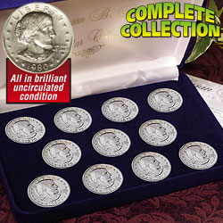 Susan B. Anthony Dollar Collection&nbsp;&nbsp;Model#&nbsp;2312