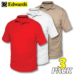 Performance Polos - 3 Pack  Model# 1577