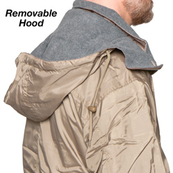 Fleece Reversible Jacket - Tan  Model# 03-097-0198-6020TAN