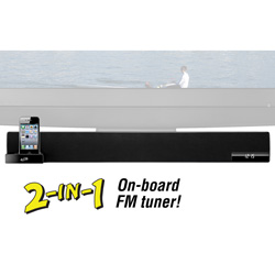 2.1 Sound Bar with Dock  Model# ITP180B