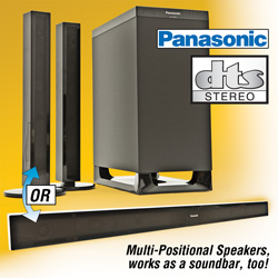 Panasonic Sound Bar System  Model# SC-HTB15
