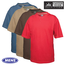 Short Sleeve Crew Neck Shirts - 4 Pack - Size: Large