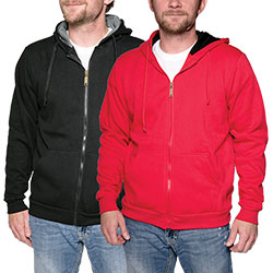 Full Zip Hoodies - Size: Xlarge 97090E