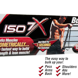 ISO 7X Isometric Workout Bar&nbsp;&nbsp;Model#&nbsp;ISO7X-MC4