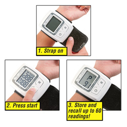 Wrist Blood Pressure Monitor  Model# KD-735