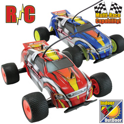 Xeno-V R/C Cars - 2 Pack  Model# TY-03203 BLUE/RED