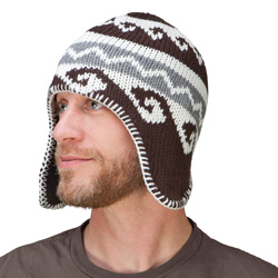 Jacquard Knit Hat  Model# 00469