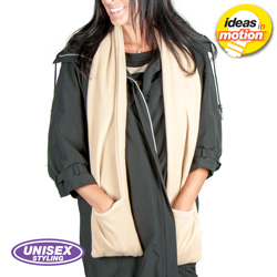Heated Scarf - Beige  Model# HS-12-2381-BEIGE