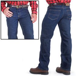 Deep Wash Denim Jeans  Model# 99-1063
