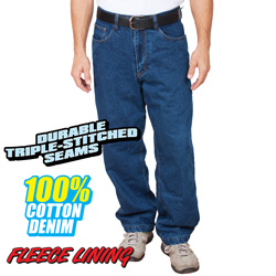 Fleece Lined Jeans  Model# BL-9966