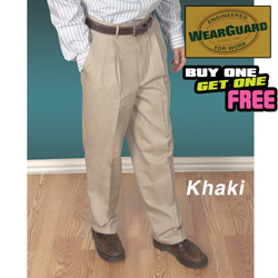 2 Pack Wearguard Pleated Pants  Model# 2066