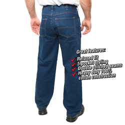 Mens Denim Jeans  Model# PA-420-BL