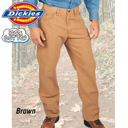 Dickies Duck Jeans - 2 Pack&nbsp;&nbsp;Model#&nbsp;ED218-BROWN/SLATE