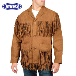 Western Fringe Jacket  Model# 49927-SPICE