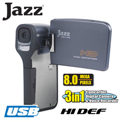 Jazz Hi-Def Camera/Camcorder  Model# HDV189