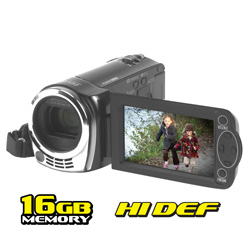 Panasonic 16GB HD Camcorder  Model# HDC-TM40