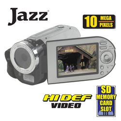 Jazz High-Def Camera/Camcorder  Model# HDV105