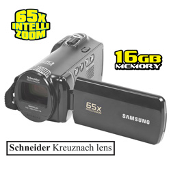 65X Intelli-Zoom Camcorder  Model# SMX-F54