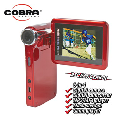 Cobra 5MP Digital Camera/Camcorder&nbsp;&nbsp;Model#&nbsp;DVC1500