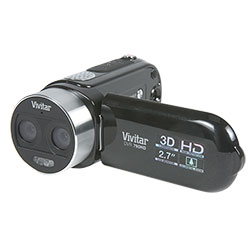 Vivitar 3D Camcorder  Model# 790HD-KIT-BLACK