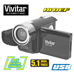 Vivitar HD Camera/Camcorder&nbsp;&nbsp;Model#&nbsp;DVR528HD-BLACK