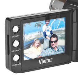 Vivitar HD Camera/Camcorder  Model# DVR528HD-BLACK