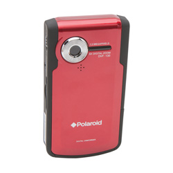 Polaroid Digital Camcorder  Model# DVF-130-RED