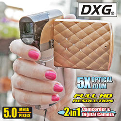 DXG HD Camcorder/Camera  Model# DXG-5E8VO4HD