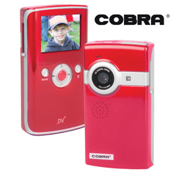 Cobra USB Flip Digital Camera  Model# DVC958-RED/DVC965-RED