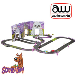 Scooby Doo Slot Car Track  Model# SRS240