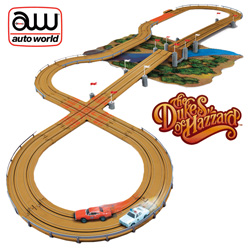 Dukes of Hazard Slot Car Track  Model# 00160