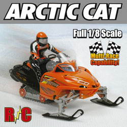 Arctic Cat Remote Control Snowmobile  Model# 51311