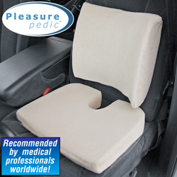 Memory Foam Seat & Back Cushion  Model# 7740