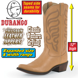 Durango Tan Western Boots&nbsp;&nbsp;Model#&nbsp;DB811