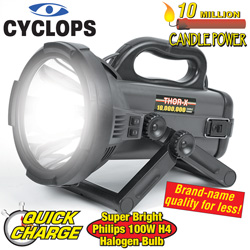 Cyclops Thor X 10 Million Candle Power Spotlight  Model# C10MIL-B