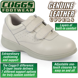 Coggs Tan Mens Care Shoes  Model# CT1877