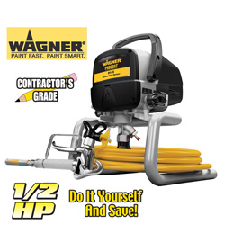 Wagner 1/2HP Paint Sprayer  Model# 9145