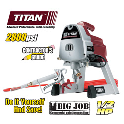 Titan 1/2 HP Paint Sprayer&nbsp;&nbsp;Model#&nbsp;XT250